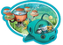 octonauts party paper shaped disposable plates