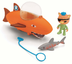 fisher-price octonauts playset open dome kwazi