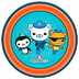 octonauts party paper disposable plates each