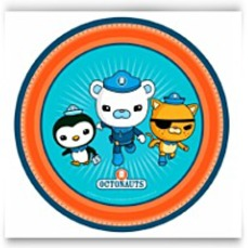 8CT 9IN Party Paper Disposable Plates