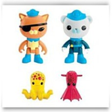 Octonauts 2 X Packs Kwazii And The Vampire