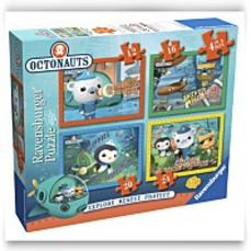 Discount Octonauts 4 In A Box Puzzles