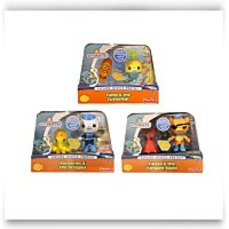 Save Octonauts Action Figure 3 Pack Barnacles