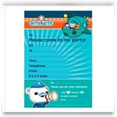 Discount Octonauts Party Invitations