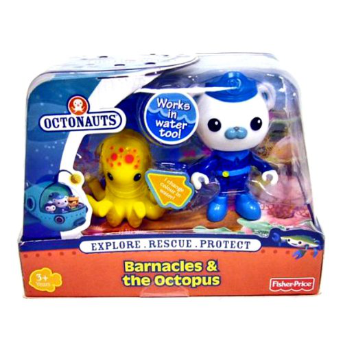 Octonauts Figure And Creature Pack Barnacles