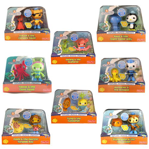 Octonauts Creature Pack Combo