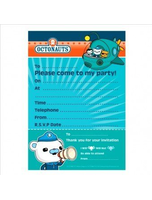 Octonauts Party Invitations